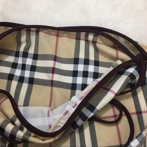 8d5417c864 Burberry Swim - Burberry Wrap Around Sarong Swim Skirt M